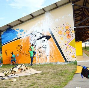 Fresque Collective - Lycée - Guyane