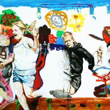 PEINTURE - GRAFF