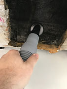 Vacuuming Fiberglass Duct Work With Portable HEPA Vac