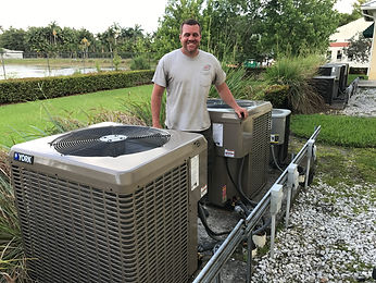 York Air Conditioner Installed