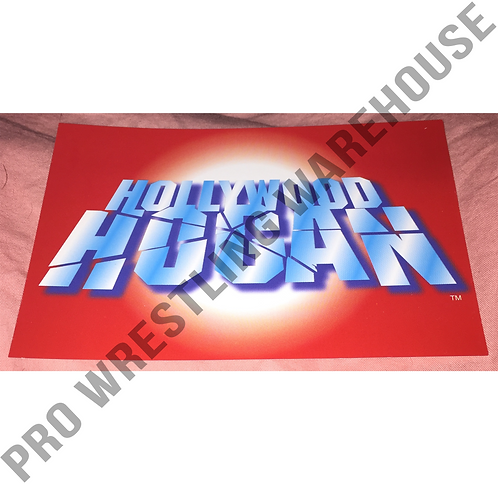 """Hollywood"" Hulk Hogan Logo - 4x6 WCW,nWo Wrestling Promo Photo"