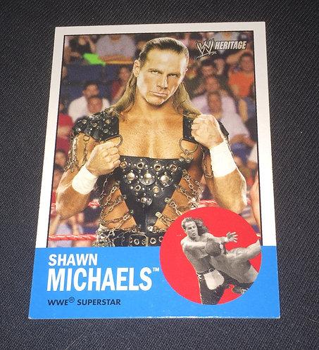 Shawn Michaels WWE Wrestling Trading Card