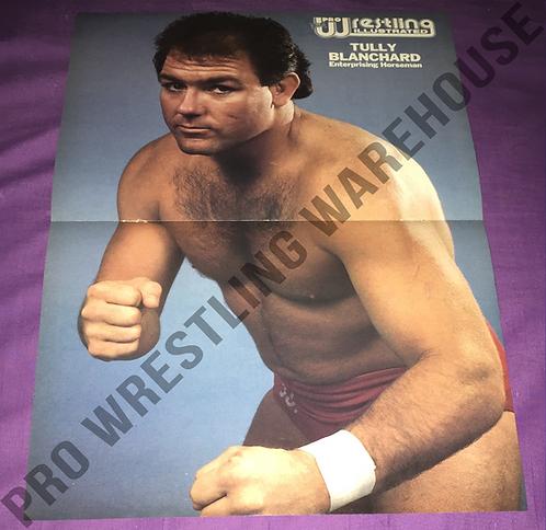 Tully Blanchard Poster - NWA, WCW, WWF, WWE