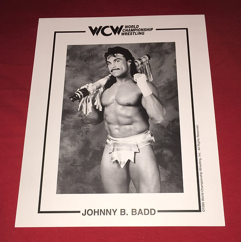 Johnny B. Badd 8x10 Promo Photo