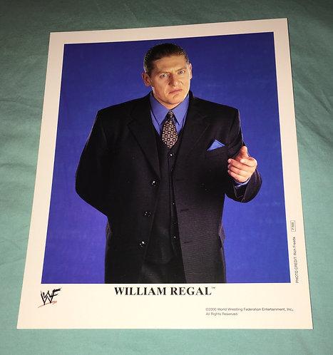 William Regal WWF/WWE Promo Photo P-668 (2000)