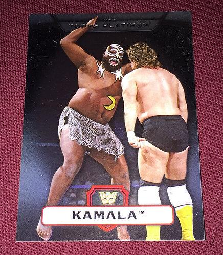 Kamala WWE Wrestling Trading Card