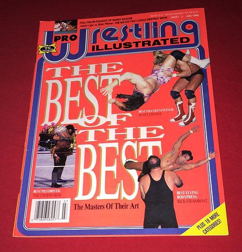 Pro Wrestling Illustrated- July 1992