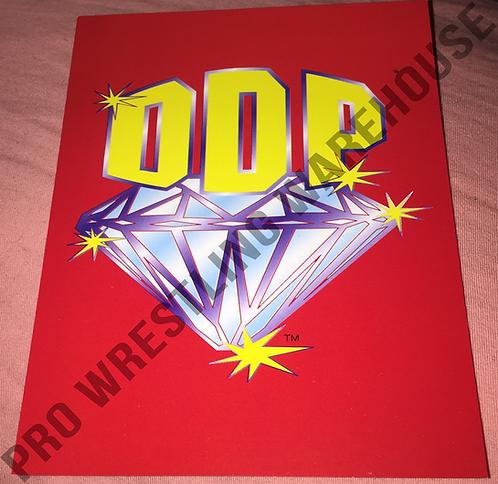 DDP - Diamond Dallas Page Logo - WCW 4x6 Wrestling Promo Photo