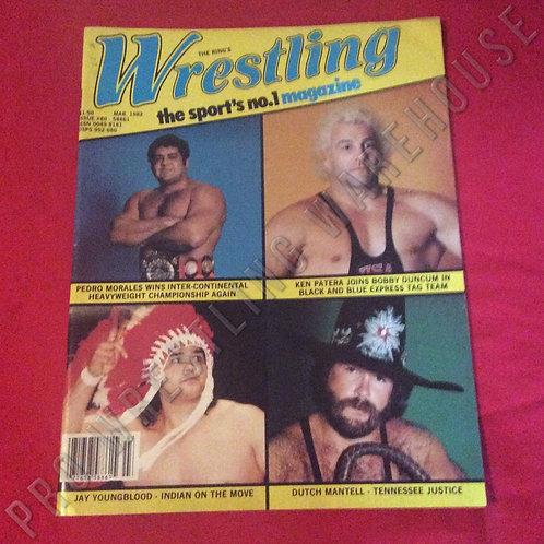 Wrestling Magazine - March 1982