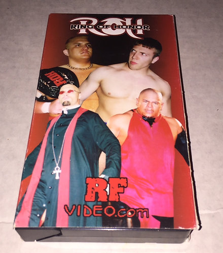 Ring of Honor ROH VHS Wrestling Video Tape