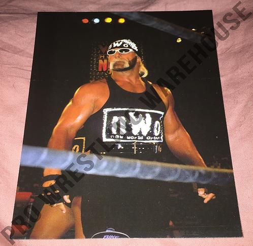 """""""Hollywood"""" Hulk Hogan 4x6 nWo,WCW Wrestling Promo Photo"""