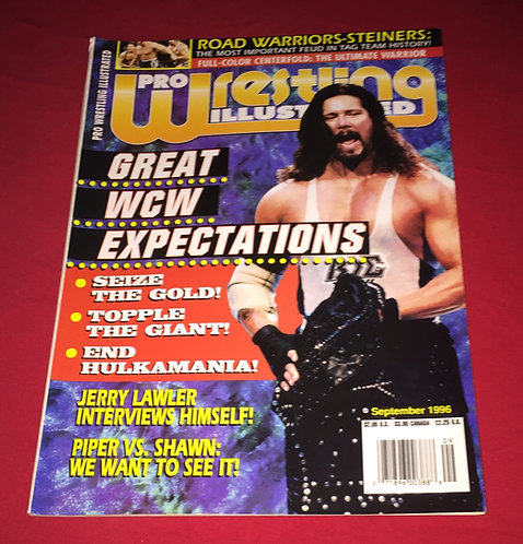 Pro Wrestling Illustrated September 1996 - Diesel Kevin Nash