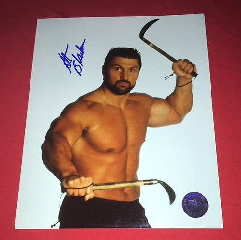 Steve Blackmon Autographed 8x10 Promo Photo