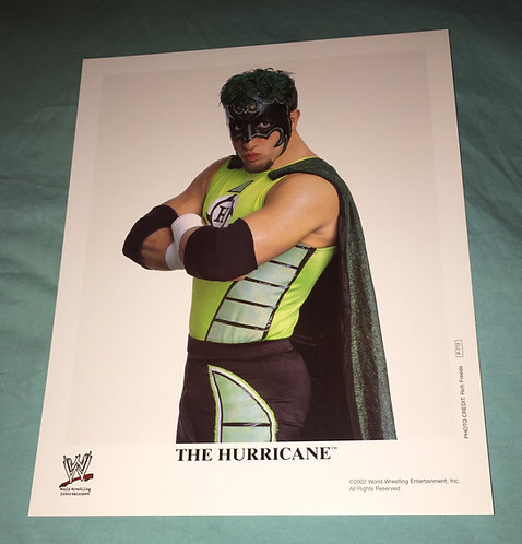 The Hurricane WWF/WWE Promo Photo P-772 (2002)