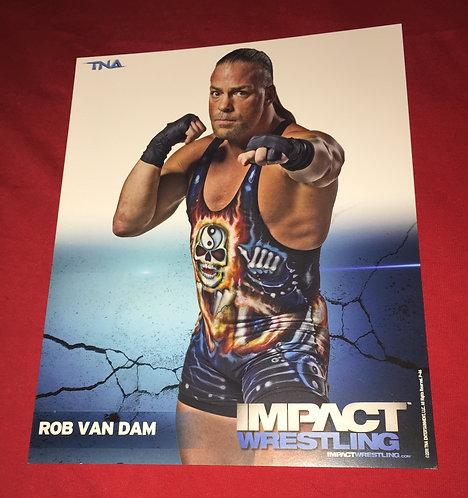 Rob Van Dam 8x10 Promo Photo