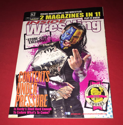 Inside Wrestling - The Wrestler Double Issue Vol-51 - 2013 Jeff Hardy, CM Punk