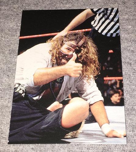Mankind WWF/WWE Wrestling Trading Card
