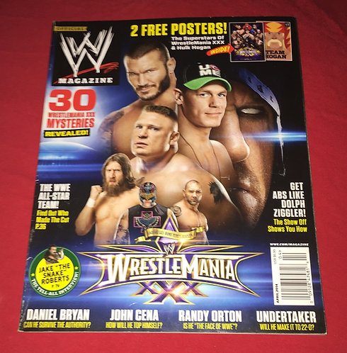 WWE Magazine April 2014 - Wrestlemania 30