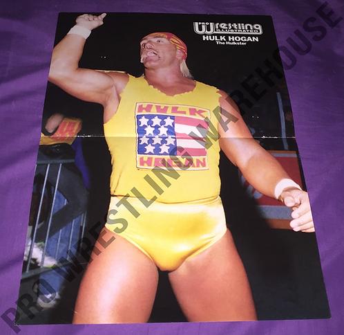 Hulk Hogan Wrestling Poster - WWF, WWE