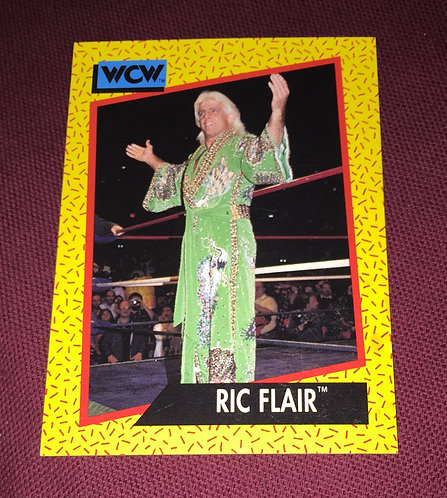 Ric Flair (Green Robe) WCW Wrestling Trading Card