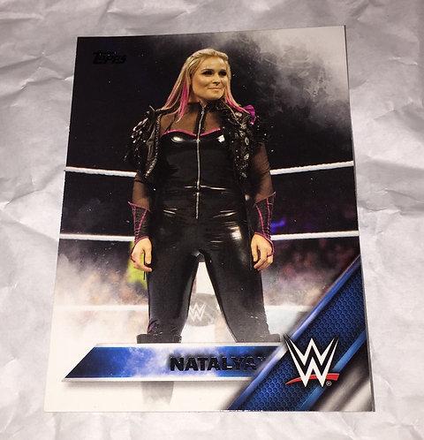 Natalya WWE Wrestling Trading Card