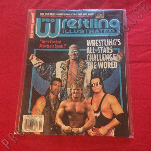 Pro Wrestling Illustrated - October 1994