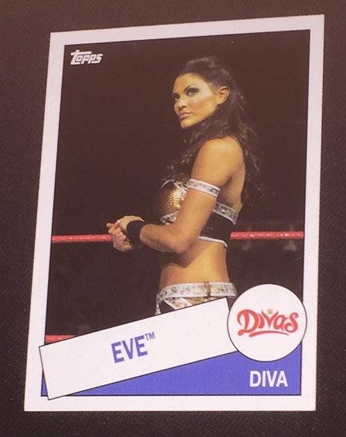 Eve WWE Wrestling Trading Card