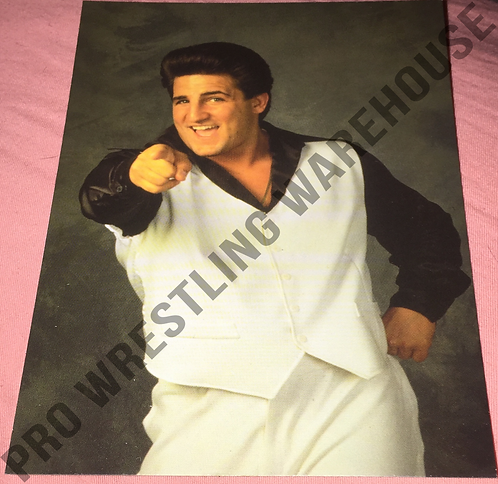 Disco Inferno WCW 4x6 Wrestling Promo Photo