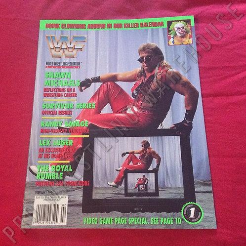 WWF Magazine - February 1994