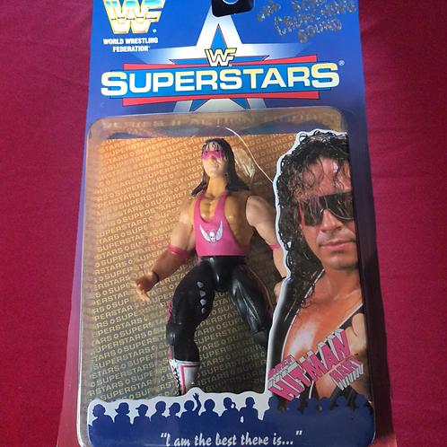 """Bret """"Hitman"""" Hart WWF/WWE Jakks Wrestling Figure"""