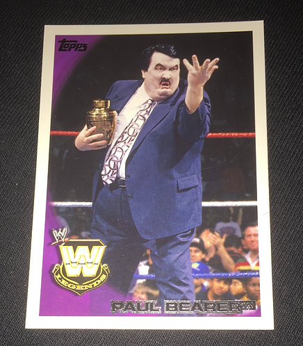 Paul Bearer WWE Wrestling Trading Card