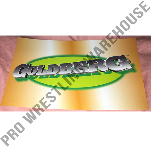 GOLDBERG Logo 4x6 WCW Wrestling Promo Photo