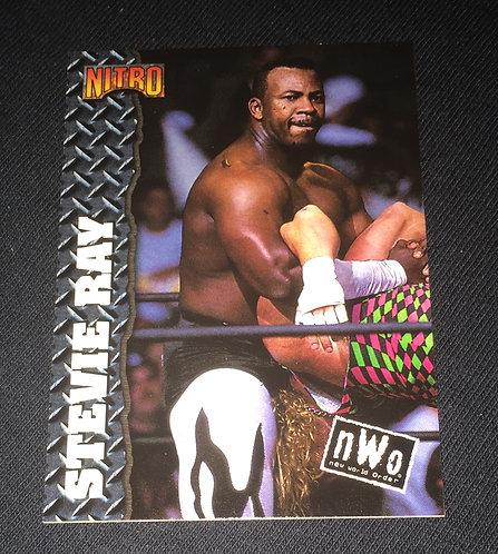 Stevie Ray WCW/nWo Nitro Wrestling Trading Card