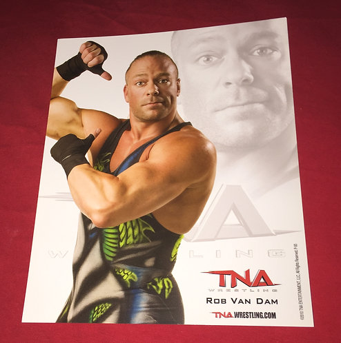 Rob Van Dam 8x10 Promo Photo