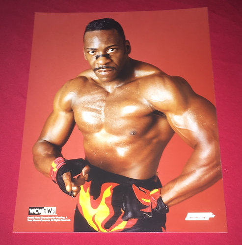 Booker T. WCW 8x10 Wrestling Promo Photo