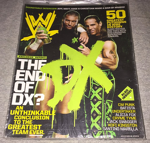WWE Magazine November 2009 - DX