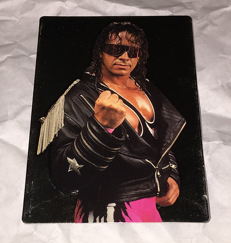 "Bret ""HitMan"" Hart WWF/WWE Action Packed Wrestling Trading Card"