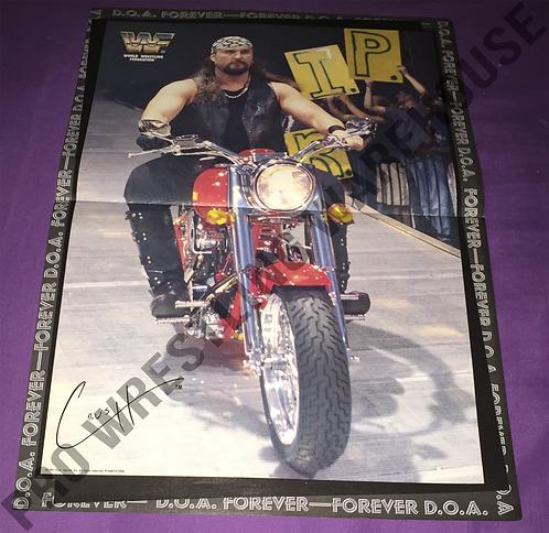 Crush, WWF, WWE, Wrestling Poster