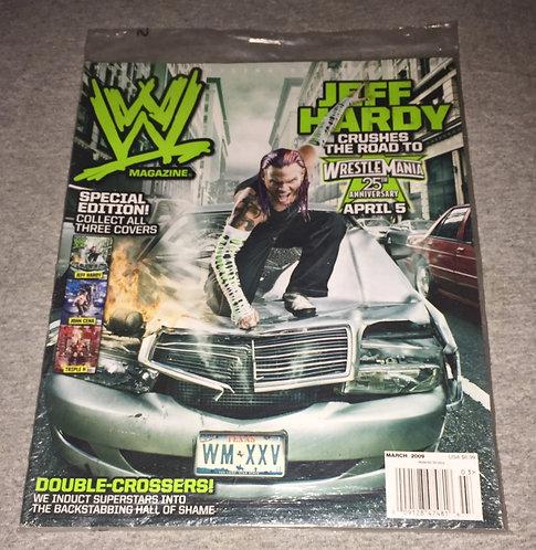 WWE Magazine March 2009 - Jeff Hardy