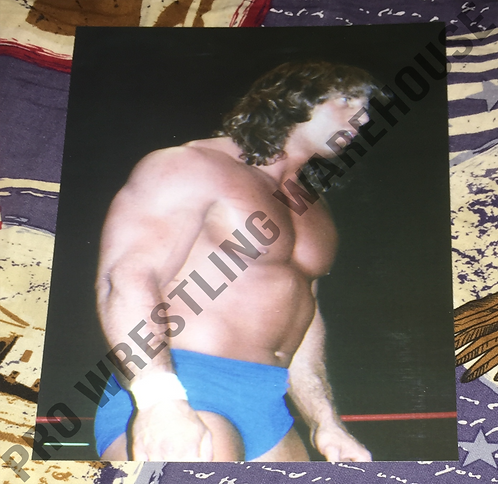 Kerry Von Erich in ring! 4x6 Wrestling Photo, NWA, WCCW, World Class