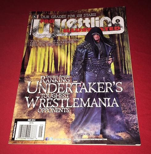 Pro Wrestling Illustrated May 2014 - Undertaker