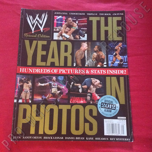 WWE The Year in Photos - 2012