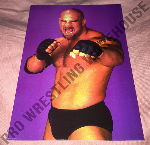 GOLDBERG 4x6 WCW Wrestling Promo Photo