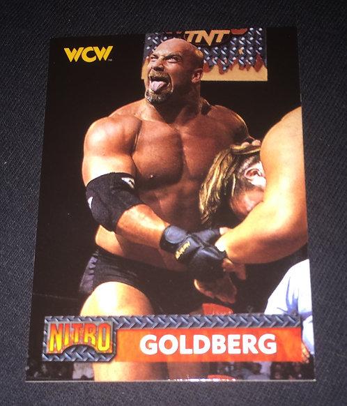 Goldberg WCW Nitro Wrestling Trading Card