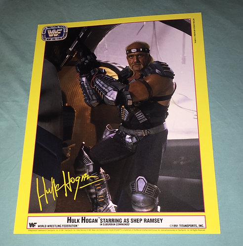 Hulk Hogan WWF/WWE Promo Photo (1991)