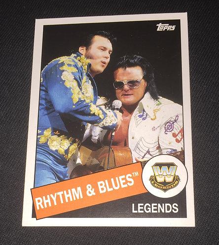 Rhythm & Blues WWE Legends Wrestling Trading Card