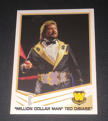 Ted Dibiase WWE Legends Wrestling Trading Card