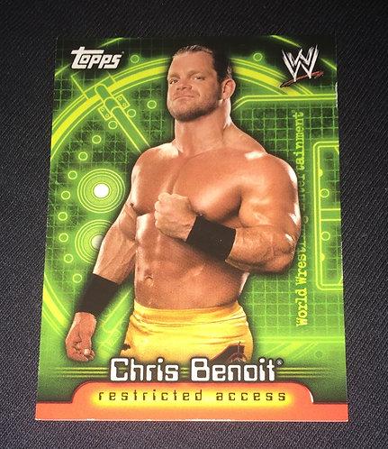 Chris Benoit WWE Wrestling Trading Card