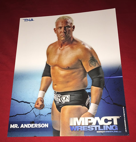 Mr. Anderson 8x10 Promo Photo