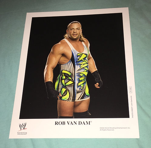 Rob Van Dam WWF/WWE Promo Photo P-1109 (2006)